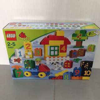 Brand New LEGO Duplo 5497 Play with Numbers