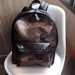Coach Charles Backpack in Animated Signature Camo Print