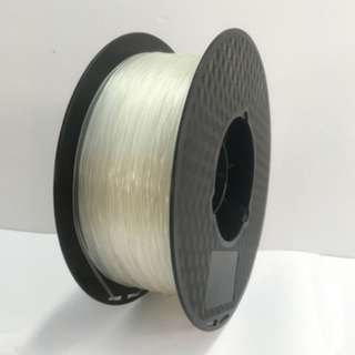 Taiwan High Quality 3D Printing Filament TPU Flexible Rubber like Material Clear Color 1.75mm