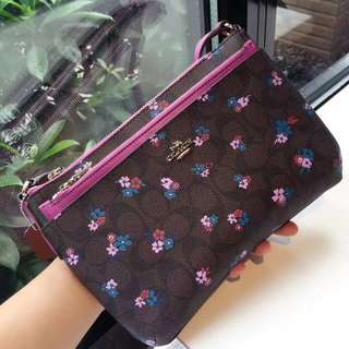 Coach East West Crossbody with Pop up Pouch