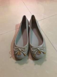 Tory burch 膠鞋防水鞋 size36