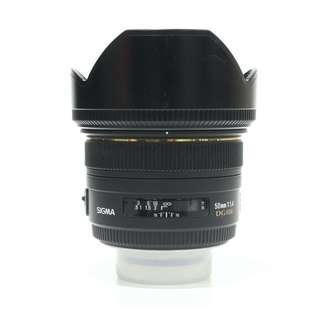 Sigma 50mm F1.4 DG HSM Lens (Canon Mount)