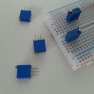Multi-turn Trimpot 2pc/set Variable Resistor Presets