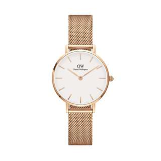 100% Original [SALES] Daniel Wellington Watch Classic Petite Collection Melrose Rose Gold 28mm / 32mm White Face Free Delivery