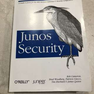 O'Reilly Junos Security