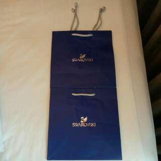 Swarovski Paper Bag (2 for one price)