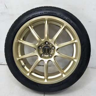 17 '' Sport Rim With Tyre (SR973)