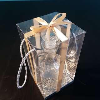 Glassware for olive oil n incense oil