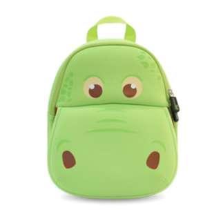 Green Dino Neoprene Backpack