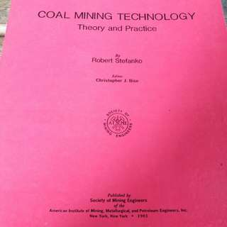 Coal Mining Technology by Robert Stefanko