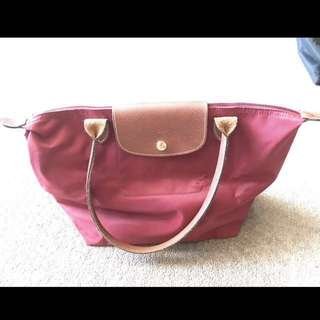 Longchamp Wine Red Small Bag rrp150