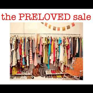 You're cordially invited to my preloved closet clean-up sale! 🤗