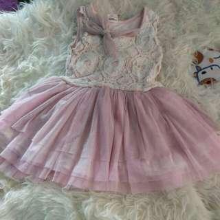 Gaun Baby Soft Pink