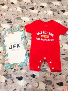 #MakinTebel Jumper Baby JFK Red