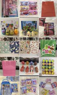Goodie bag, kids birthday party door gift, event goody packages