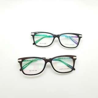 PAKET LENSA ANTI RADIASI frame kacamata wanita karen 0911