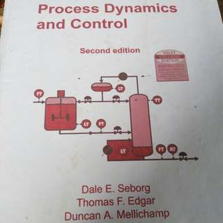 Buku Process Dynamics and Control by SEBORG
