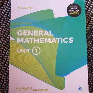 Nelson VCE General Mathematics Unit 1 and Unit 2