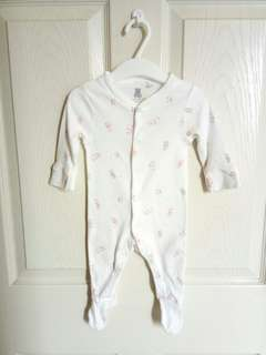 Debenhams baby sleepsuit