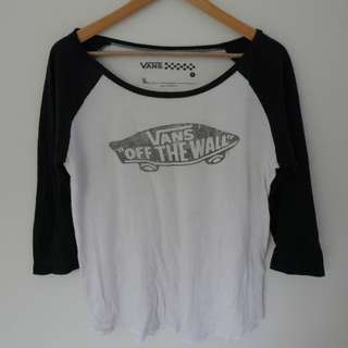VANS OFF THE WALL CLASSIC TEE Size Small
