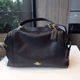 Coach Lenox Satchel - Black