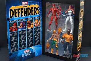 Marvel Legends Defenders: Luke Cage and Iron Fist only.