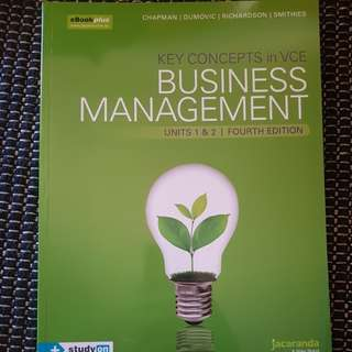 Key concepts in VCE Business Management