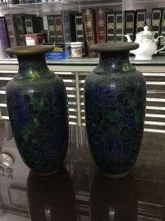景泰藍花瓶
