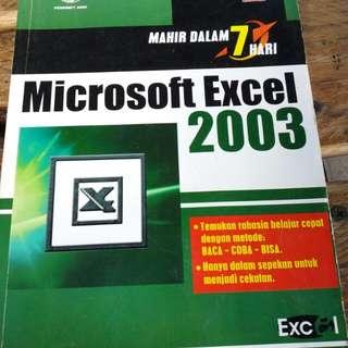 belajar excell