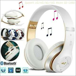 Bluetooth Headphones Stereo Wireless Bluetooth  Headset with MIC Support TF SD Card