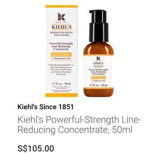 ❗️FREE Smartpac❗️ Kiehl's Powerful-Strength Line-Reducing Concentrate