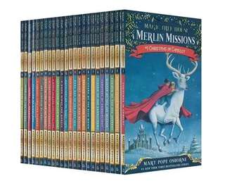 💥NEW-  Magic Tree House series Merlin Mission Books 1–25 Pack  #1 New York Timesbestselling  - Children Story books