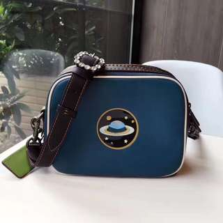 Coach Dylan Crossbody with embossed planet