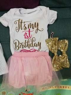 1st birthday set