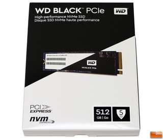 WD Black 512GB Performance SSD - M.2 2280 PCIe NVMe Solid State Drive