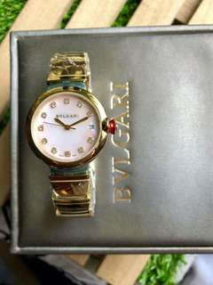Bvlgari watch for her AUTHENTIC Japan made With box manual and paperbag Pawnable