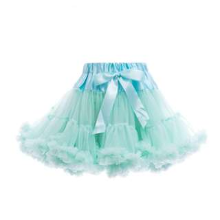 Petti Tutu Skirt (Baby Girl) - Tiffany Mint