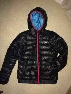 Black puffy winter jacket