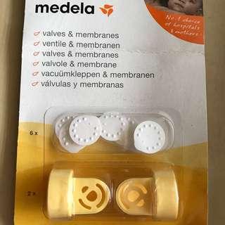 Medela membranes and valves