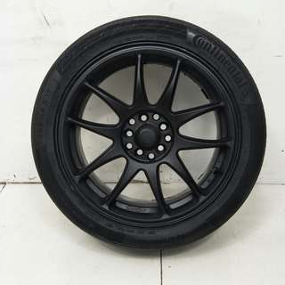 17 '' Sport Rim With Tyre 5x100 5x114.3 (SR975)