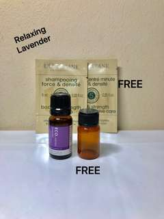 ECO. AROMA Lavender of PHARMACEUTICAL GRADE. 100% PURE ESSENTIAL OIL. 10ML.  Brand New.