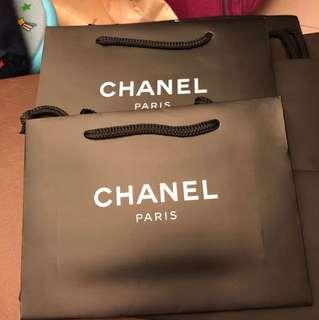 Chanel mini size 紙袋(一個)