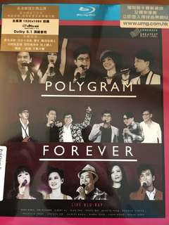 Polygram Forever, music blu ray