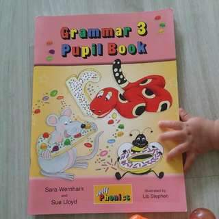 Jolly Phonics Grammar Pupil Book 3