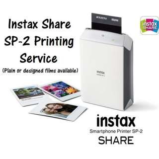 Polaroid Instax Share SP-2 Printing Service