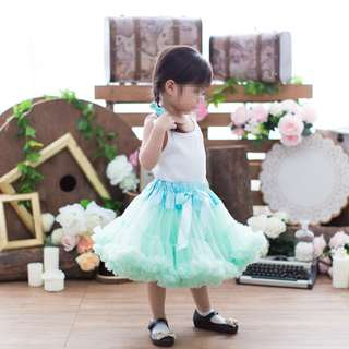 Petti Tutu Skirt - Tiffany Mint