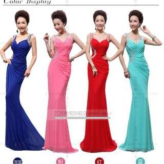 EG0128 Plus Size Evening Gown, Prom Dress, DND Dress, ROM Dress R2