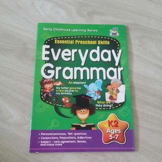K2 Everyday Grammar for Age 5 To 7