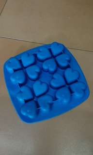 Heart shapes Ice cube mould