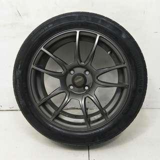 16 '' Sport Rim With Tyre 4x100 (SR976)